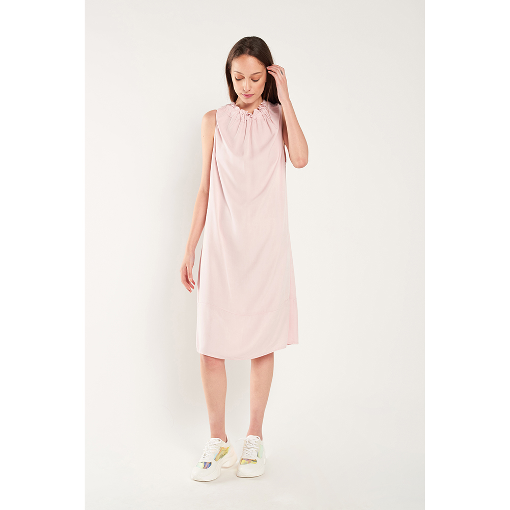 Vestido mujer - rosa palo