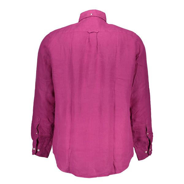 Camisa lino hombre - rosa