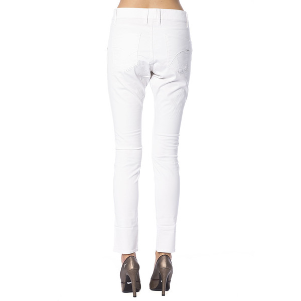 Pantalón tejano mujer - blanco
