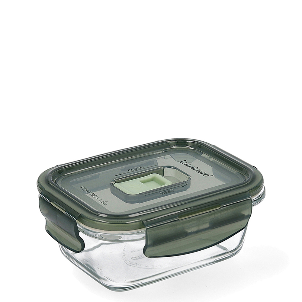 Tupper hermético 38cl - oliva