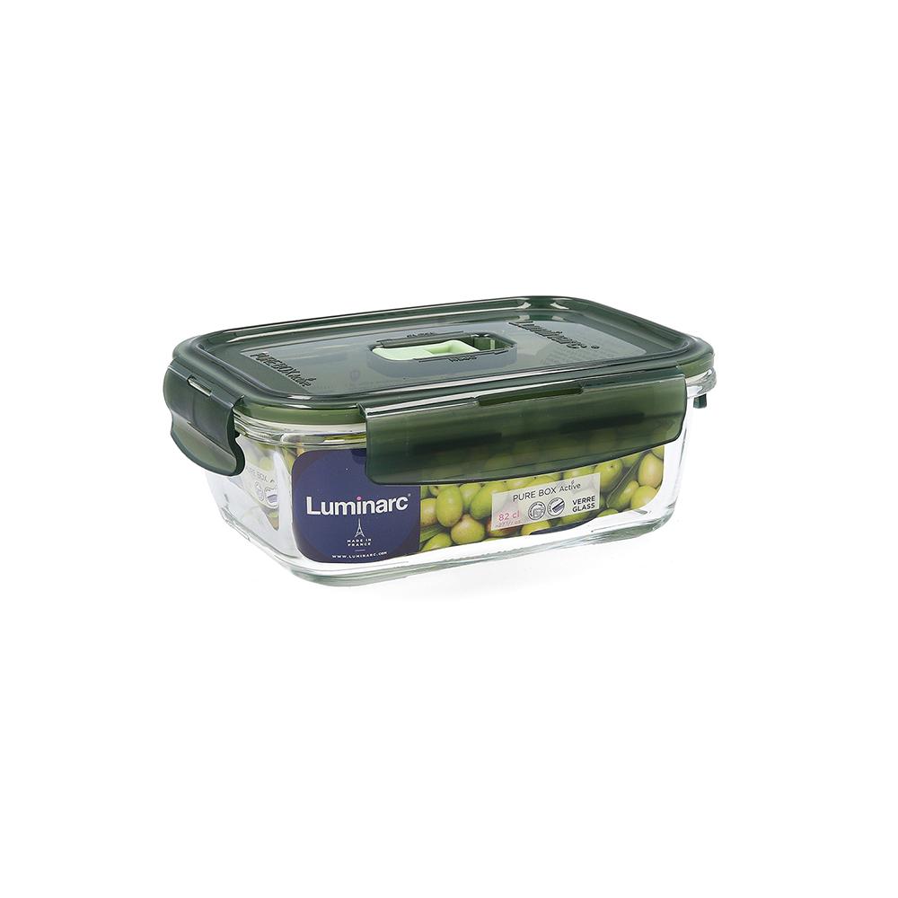 Tupper hermético 82cl - oliva