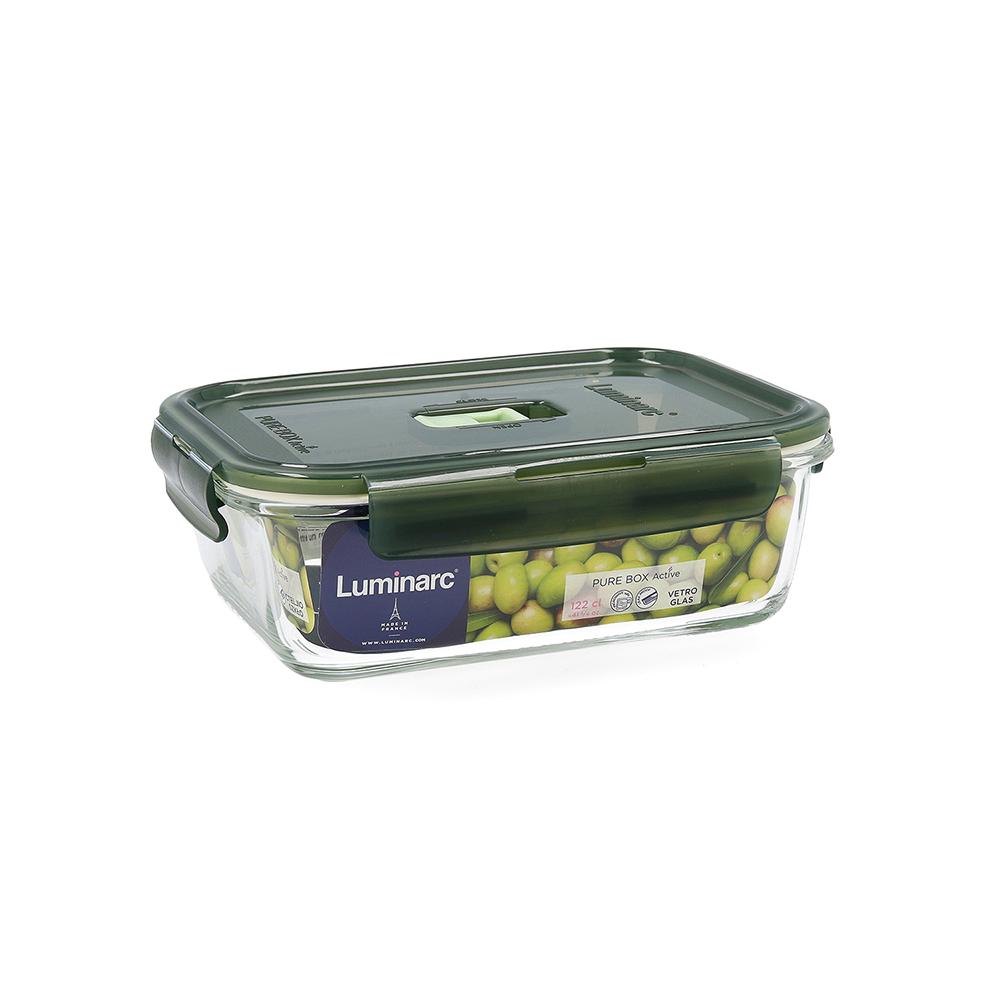 Tupper hermético 122cl - oliva