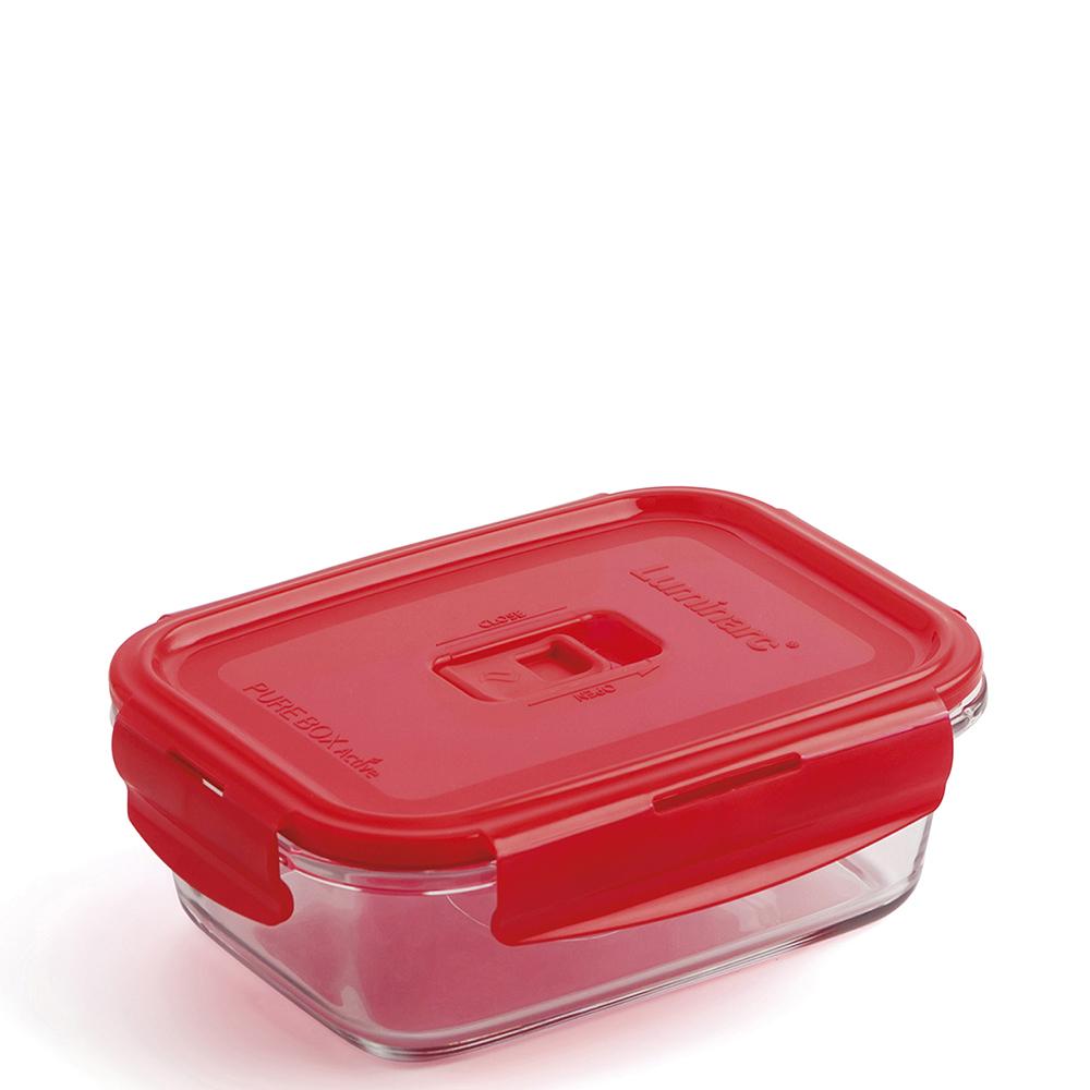 Tupper hermético 122cl - rojo