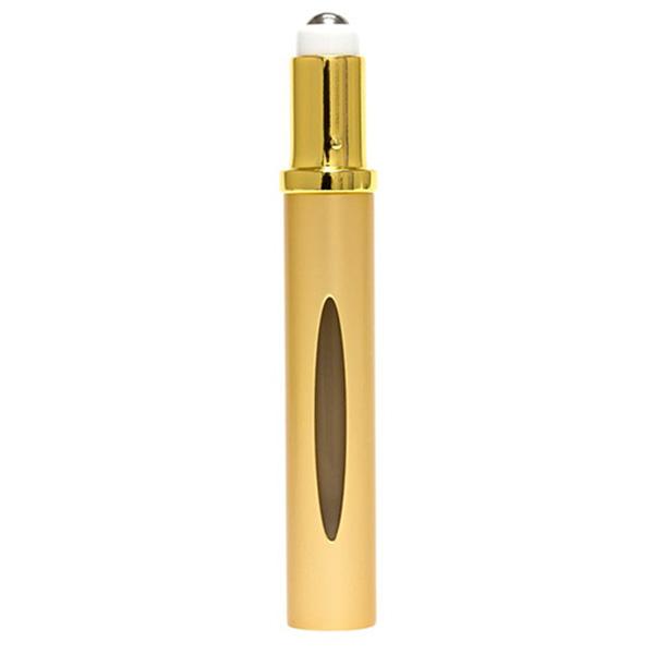 Dosificador de perfume en roll-on - dorado