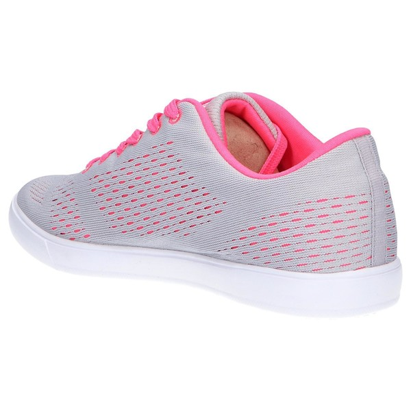 Sneaker mujer - gris/fucsia