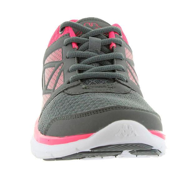 Sneaker mujer - gris/rosa