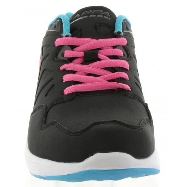 Sneaker mujer - negro/rosa