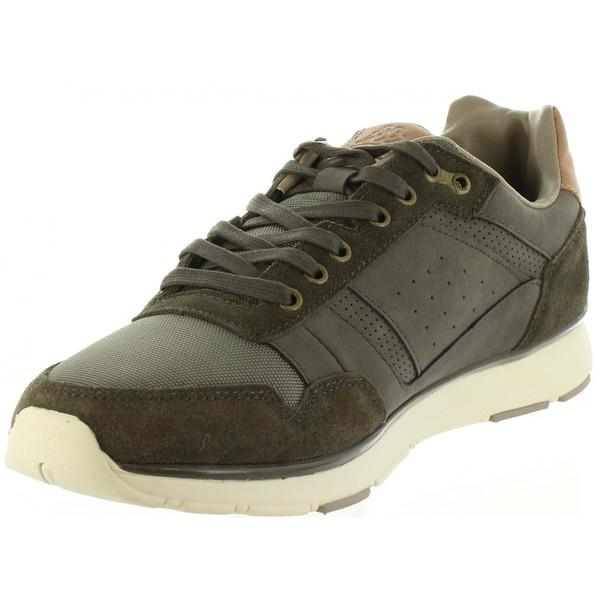 Zapatilla de deporte hombre - marrón