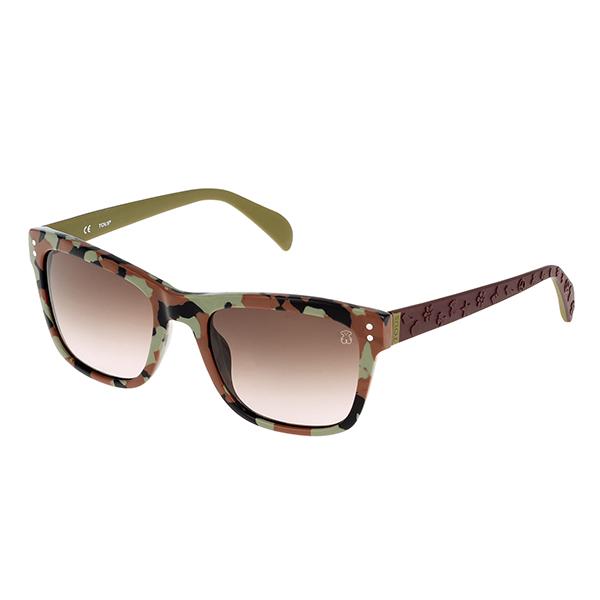 Gafas de sol acetato mujer - marrón/verde