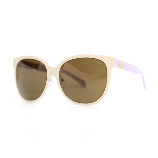 Gafas de sol de mujer - beige/violeta