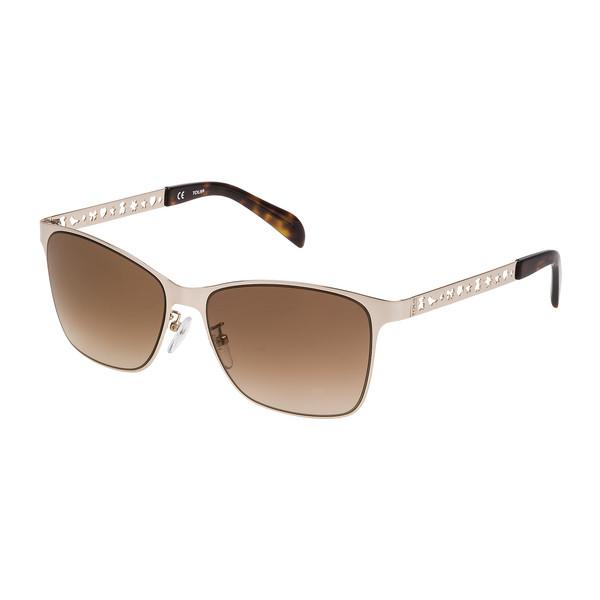 Sol Rosa Metal Gafas Mujer Oro De kZ80OPnNwX