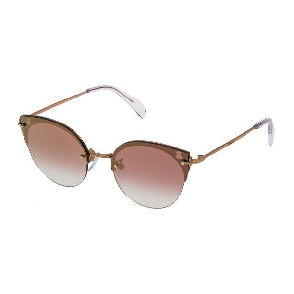 Gafas de sol metal mujer - dorado