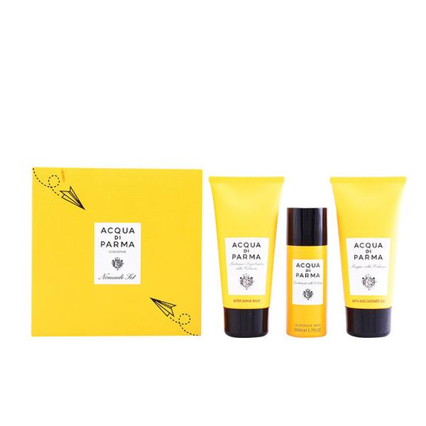 SET 3pz 75ml Bálsamo aftr shave Colonia nomade + 75ml gel de ducha + 50ml desodorante en spray
