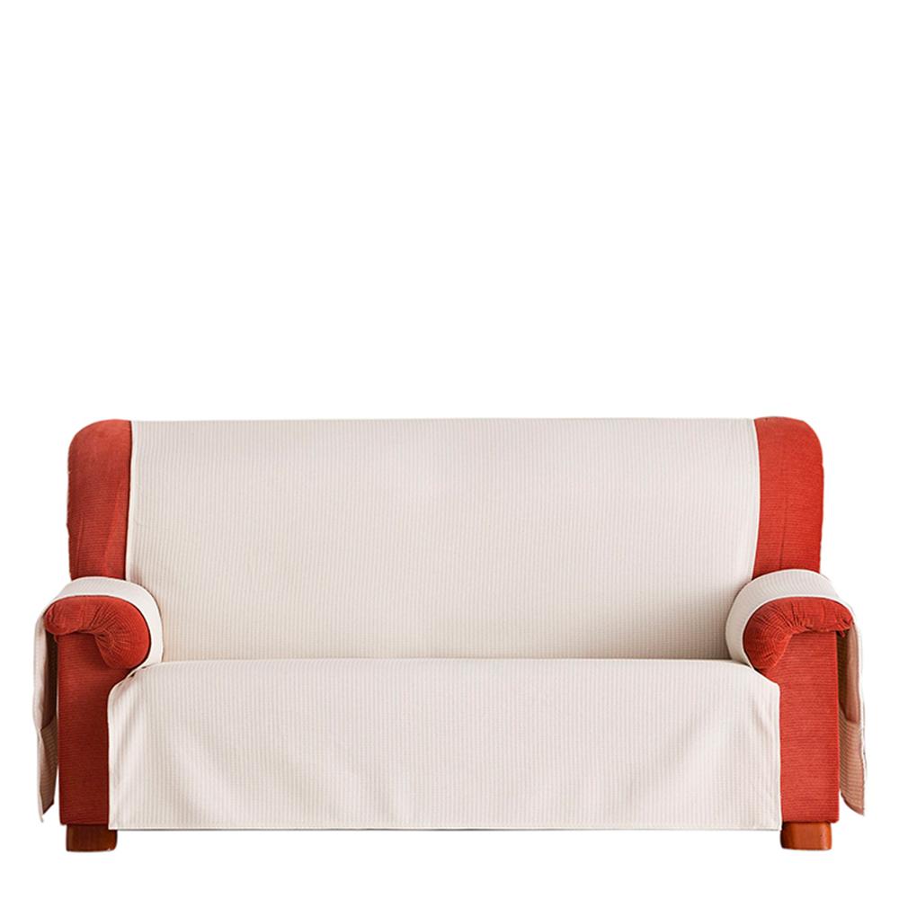 55cm Cubre sofá 1 plaza - crudo