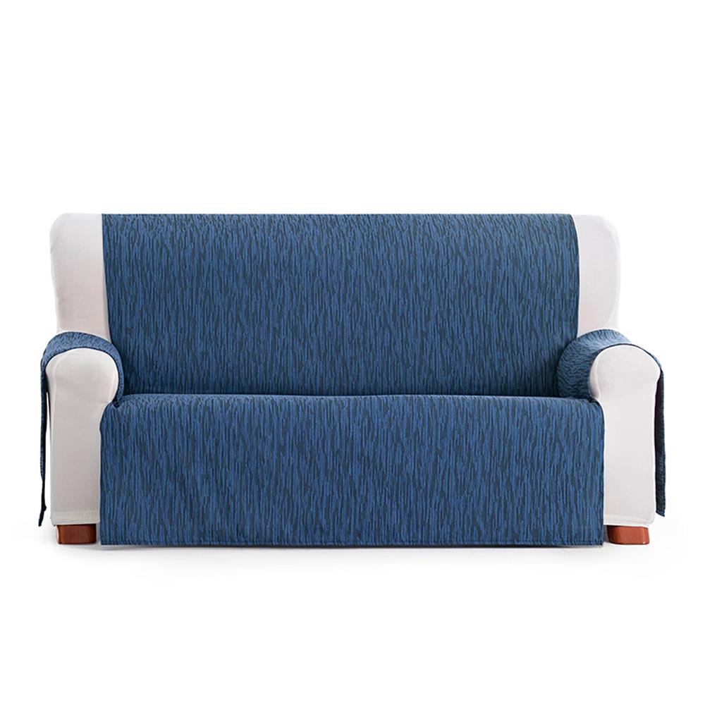 110cm Cubre sofá 2 plazas índico - azul