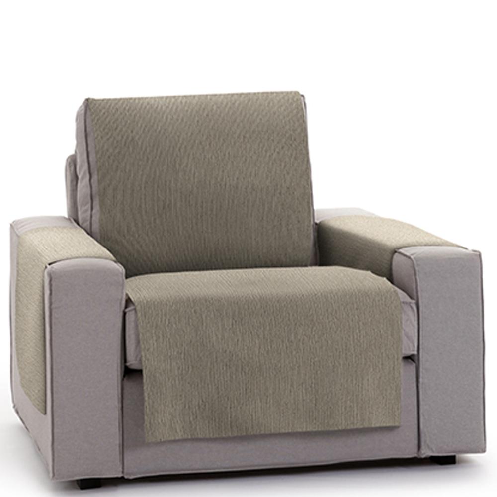 60-110 (55 tejido)cm Salva sofá 1 plaza - visón
