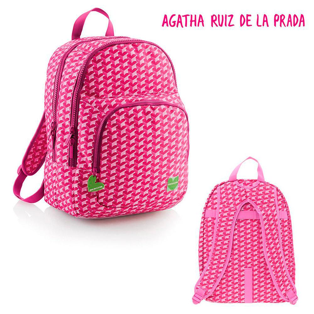 Agatha r.p. mochila corazones 42x31