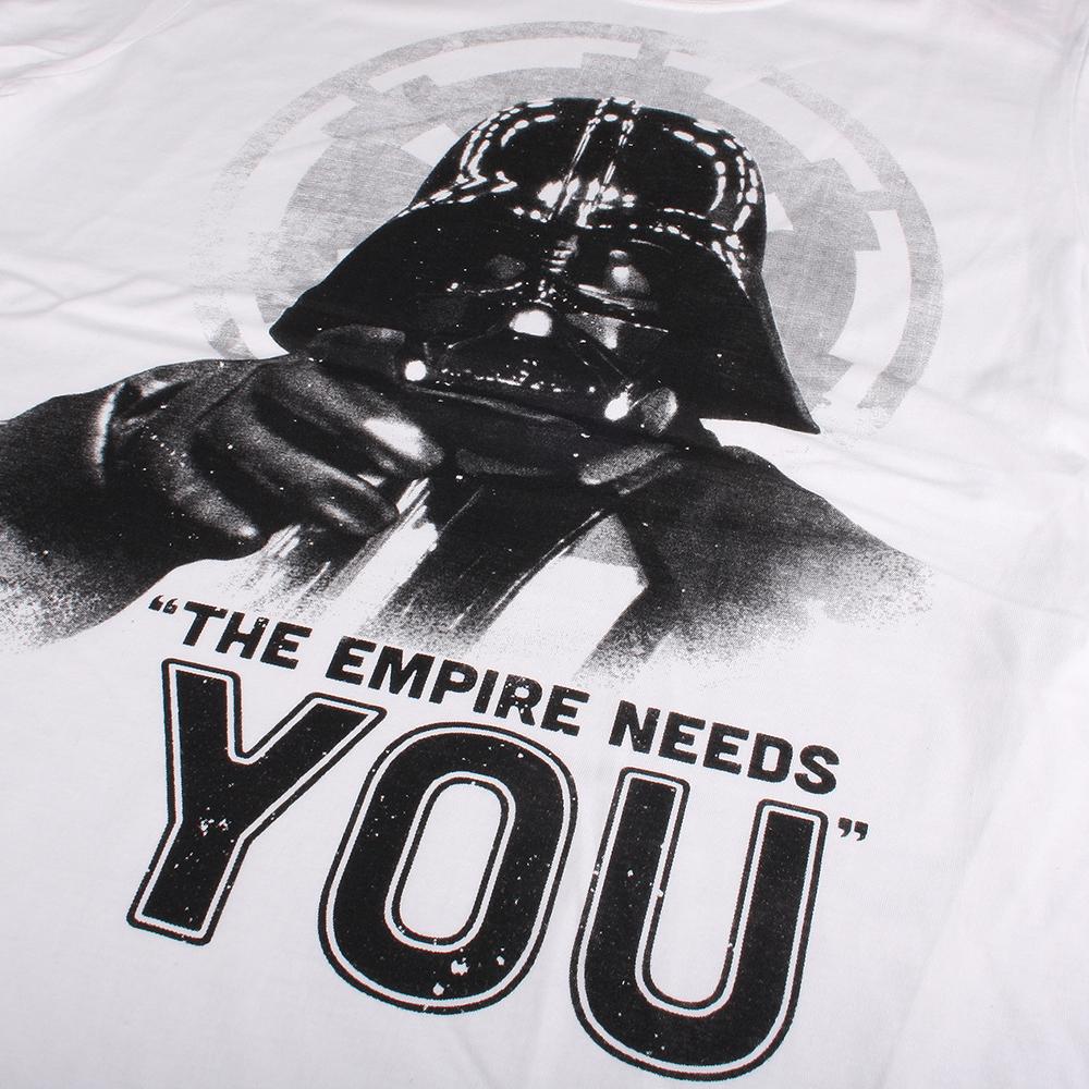 Camiseta Lado Oscuro m/corta hombre - blanco
