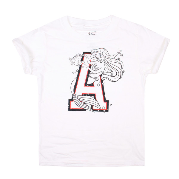 Camiseta oversized infantil - blanco