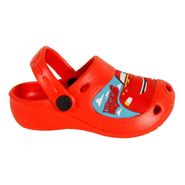 Zueco de goma Cars - rojo