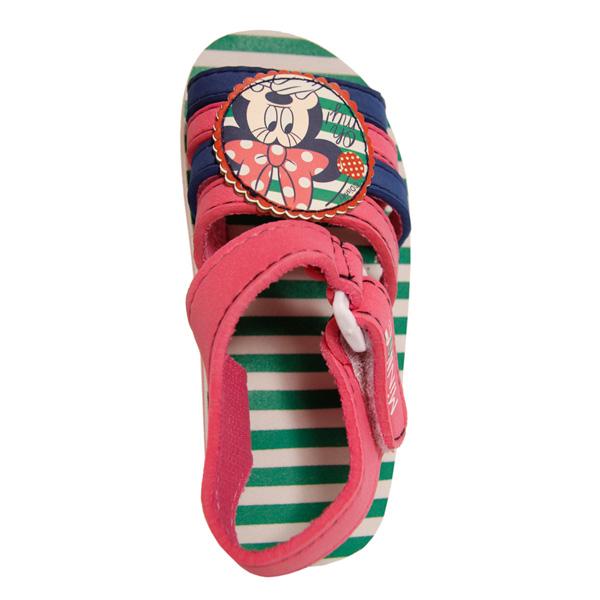 Sandalia abierta Minnie - fucsia