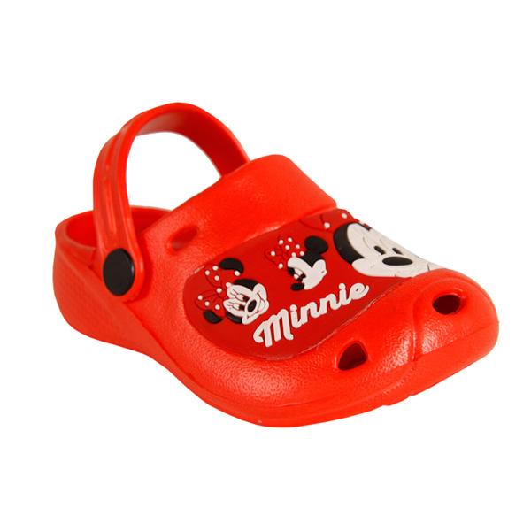 Zueco de goma Minnie - rojo