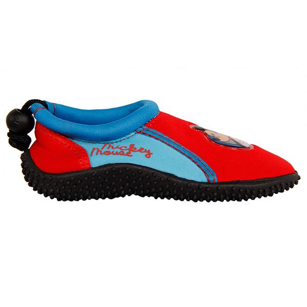 Zapatilla de agua Mickey - rojo