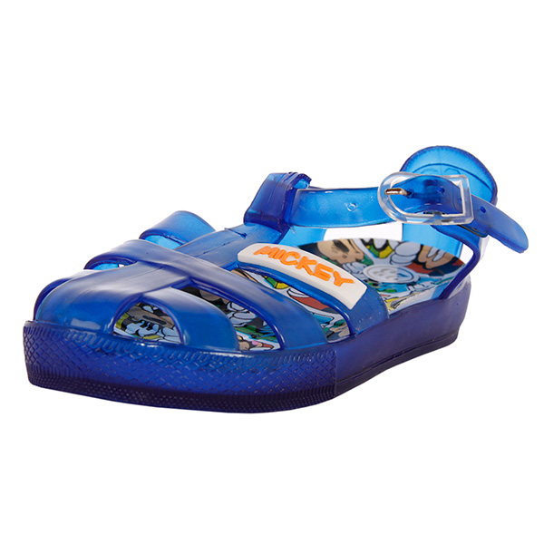 Sandalia goma Mickey - azul