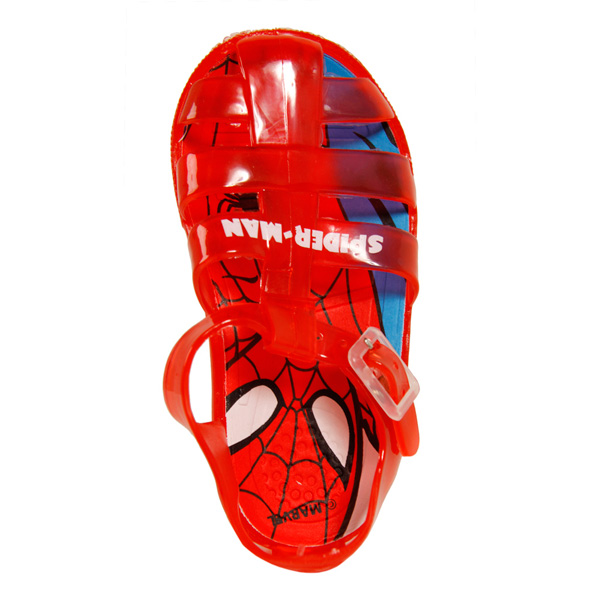 Sandalia cerrada Spiderman - rojo