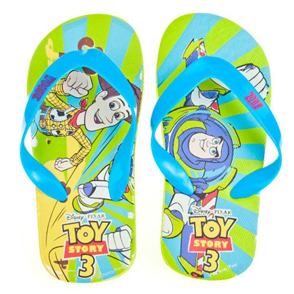 Chancla tipo flip-flop Toy story - verde