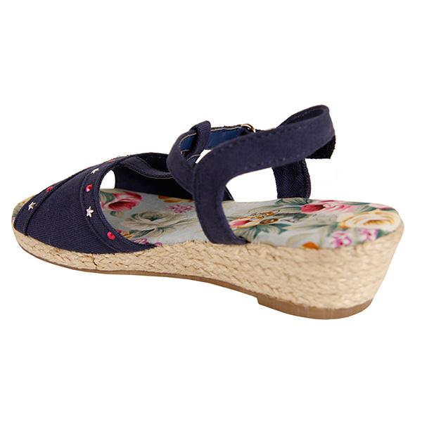Sandalias estrellas - azul