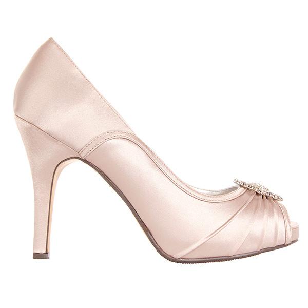Zapato tacón mujer - nude