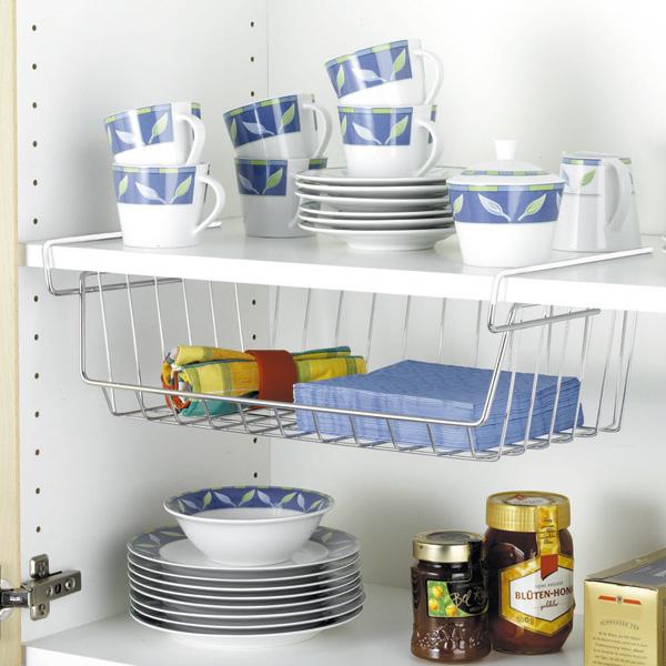 44x15x27 cm cesto organizador de armarios wenko 2304100 - Organizador armarios cocina ...