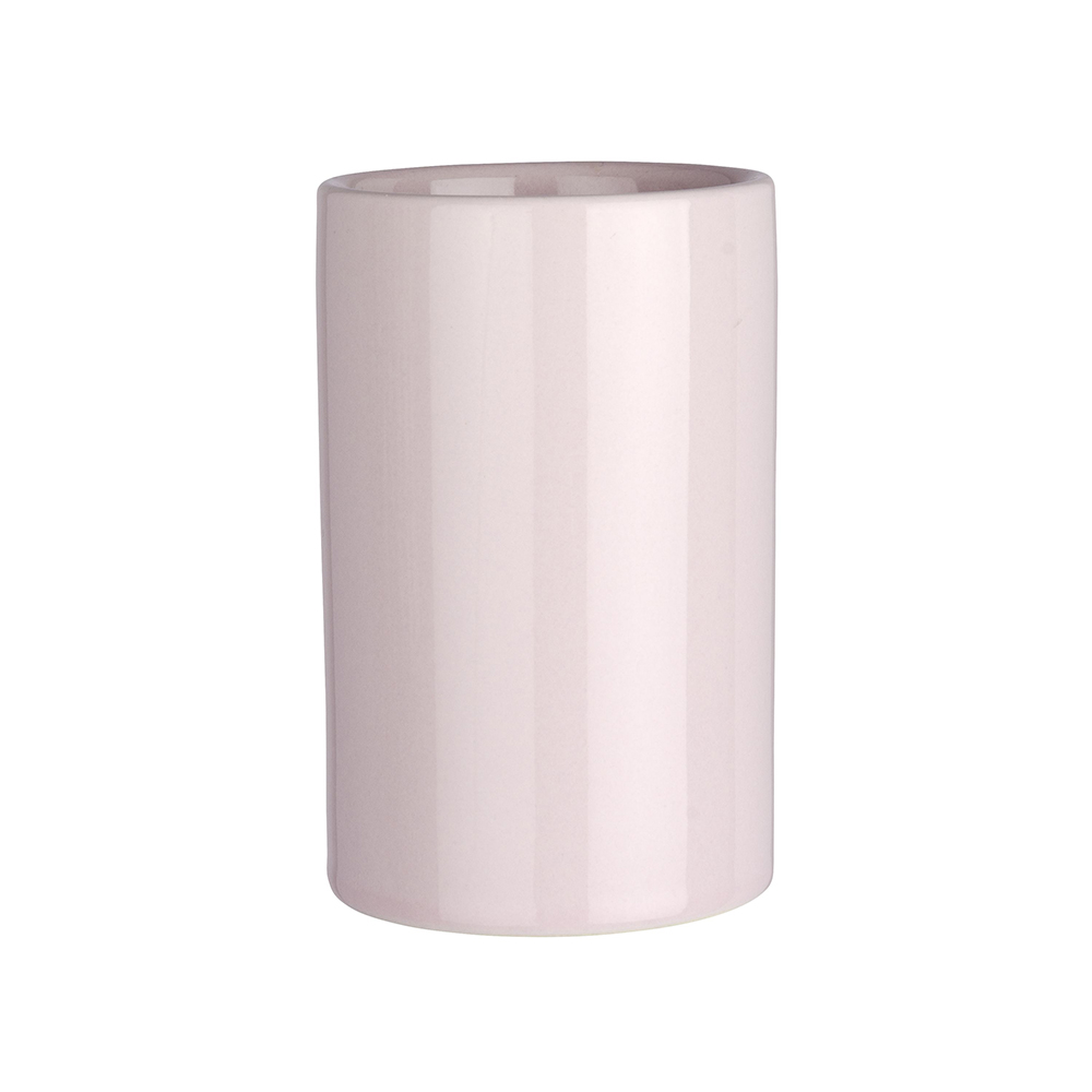 Vaso cepillo dientes cerámica - rosa