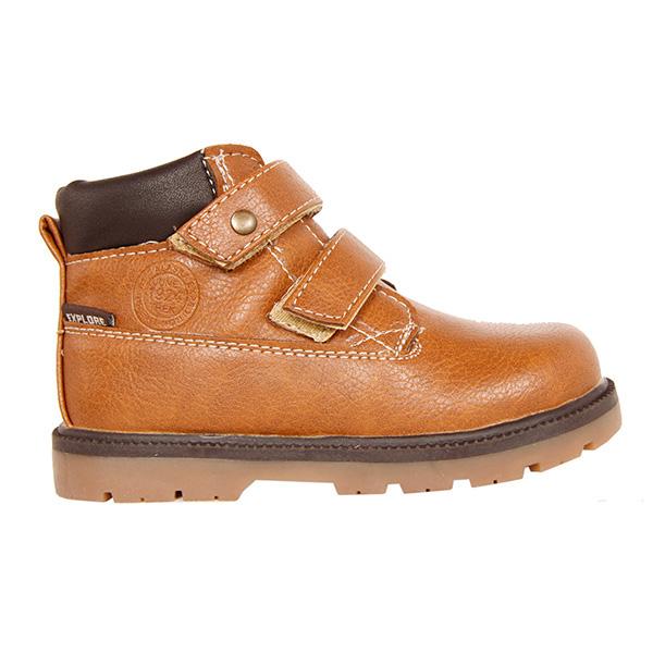Zapato abotinado infantil - natural/marrón