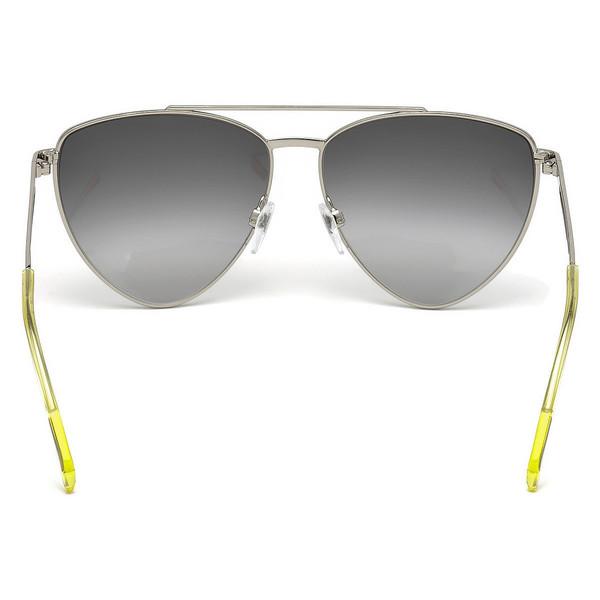 Gafas de sol metal mujer - amarillo/gris