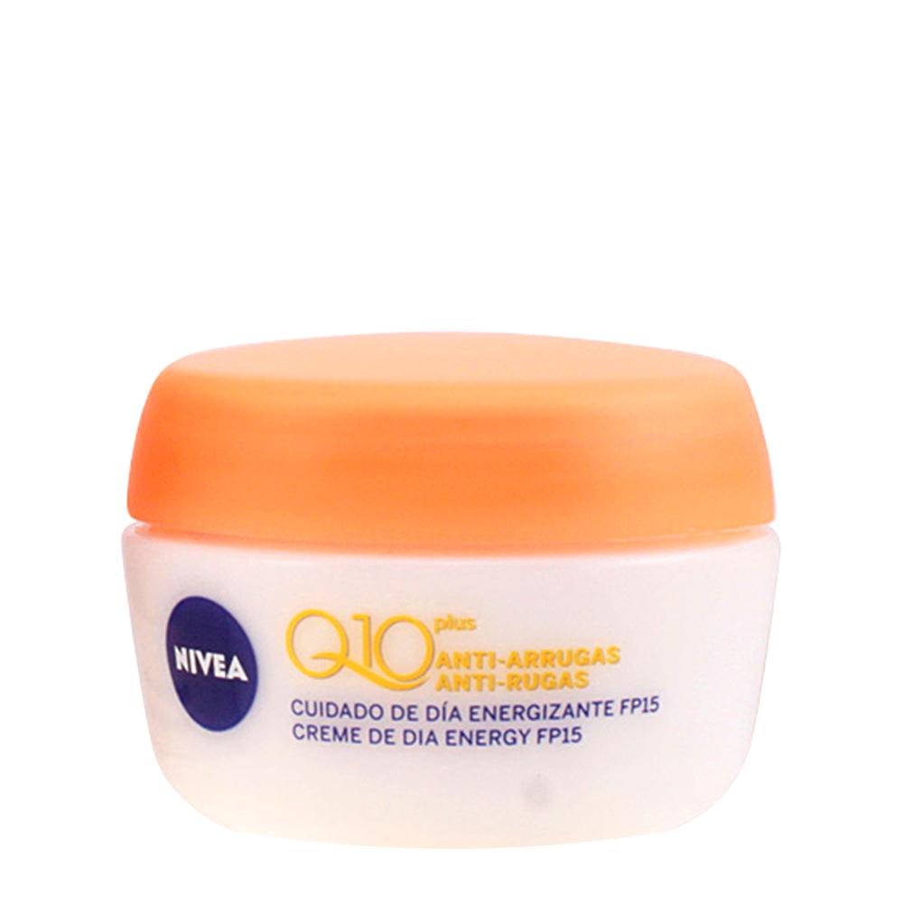 Crema facial antiarrugas día energizante SPF15