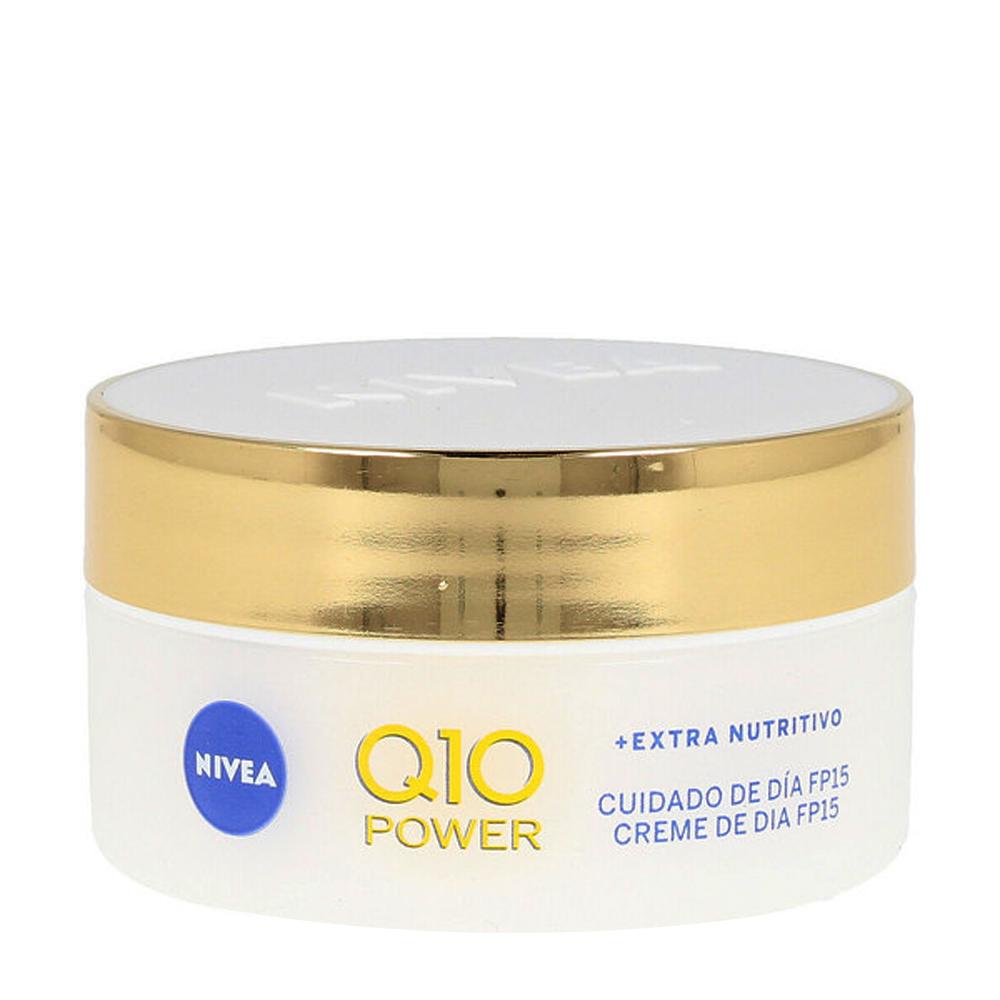 Crema facial antiarrugas Q10 SPF15
