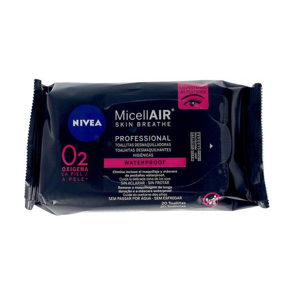 MICELL-AIR PROFESIONAL toallitas desmaquilladoras 20 uds