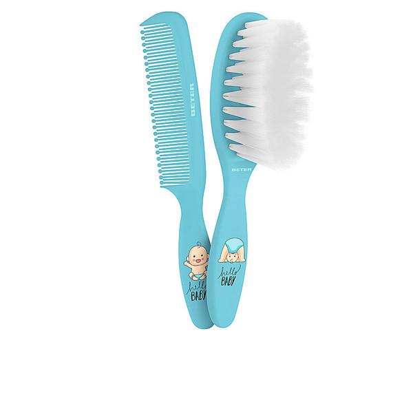 Cepillo+peine bebé - azul