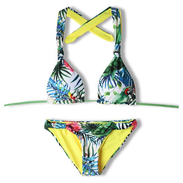 Bikini 2pzs piante - verde
