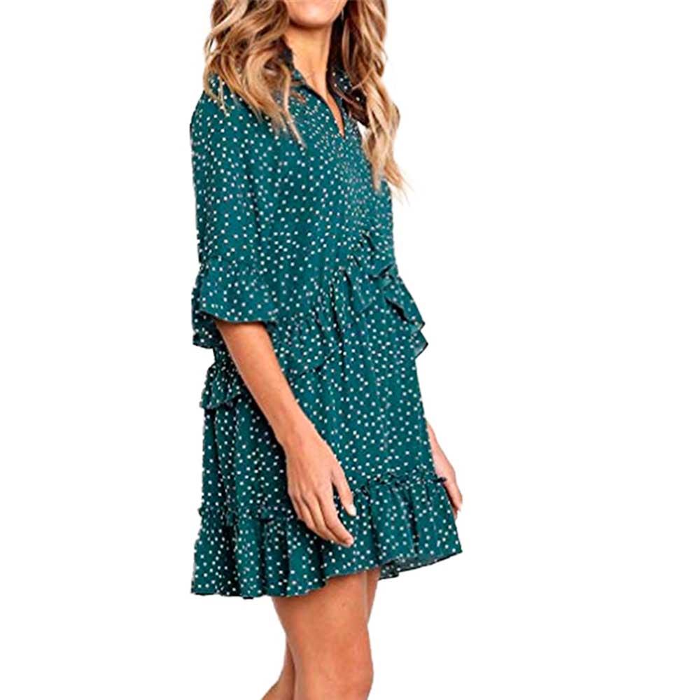 Vestido bolero - verde