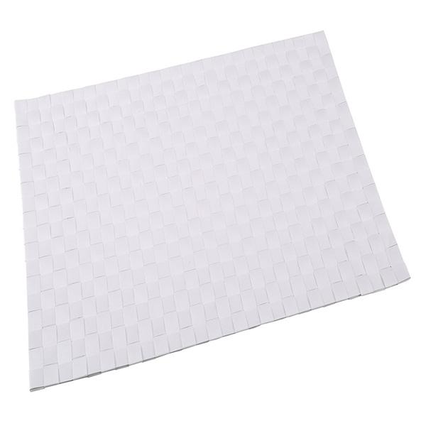 Mantel individual 30x45cm poliéster - crema