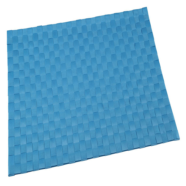 Mantel individual 30x45cm poliéster - azul