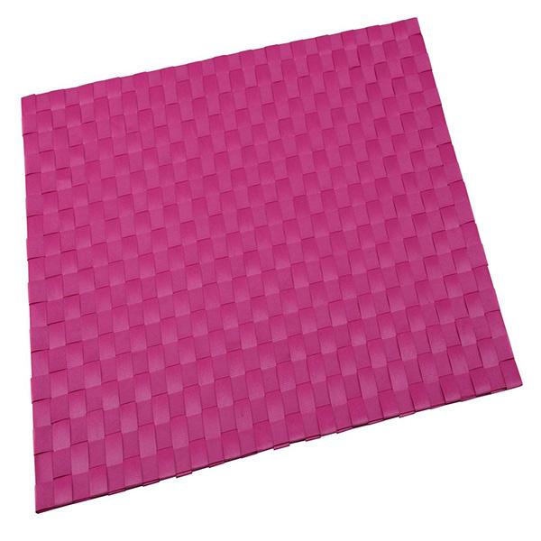 Mantel individual 30x45cm poliéster - rosa