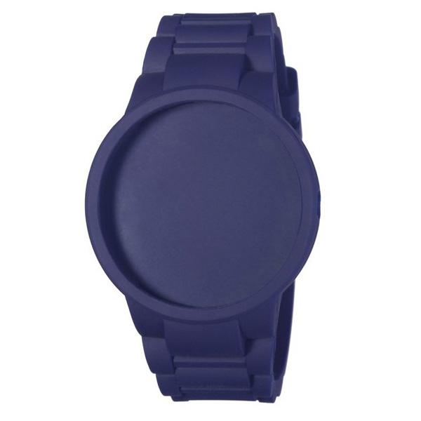 Carcasa reloj unisex caucho - azul