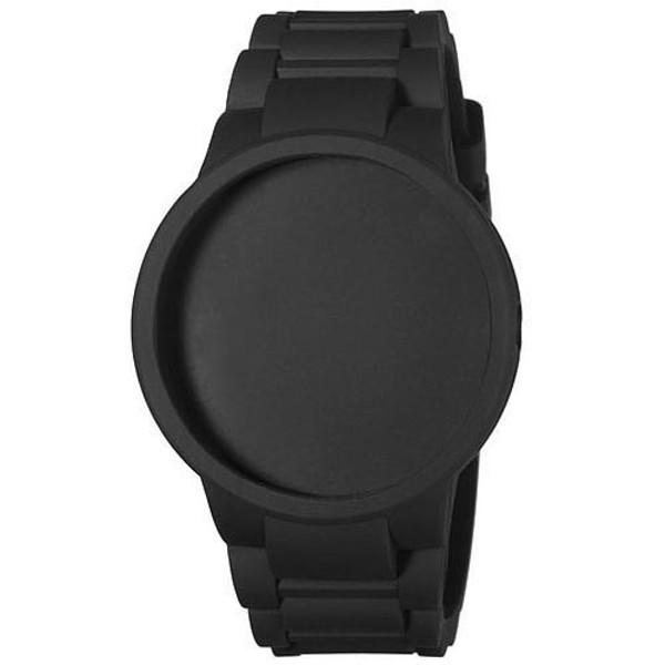 Carcasa reloj unisex caucho - negro