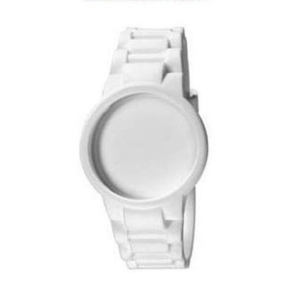Carcasa reloj unisex caucho - blanco