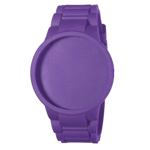 Carcasa reloj mujer caucho - lila