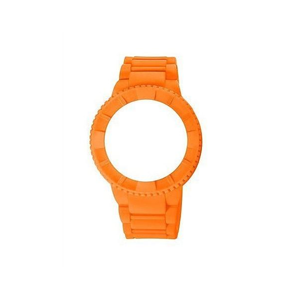 Carcasa reloj hombre caucho - naranja